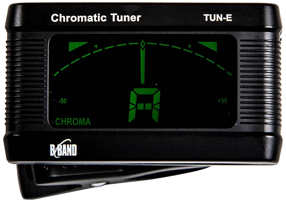 Clip On Guitar Tuner >> B-Band Clip-on Automatic Chromatic Tuner for Guitar, Bass and Ukulele