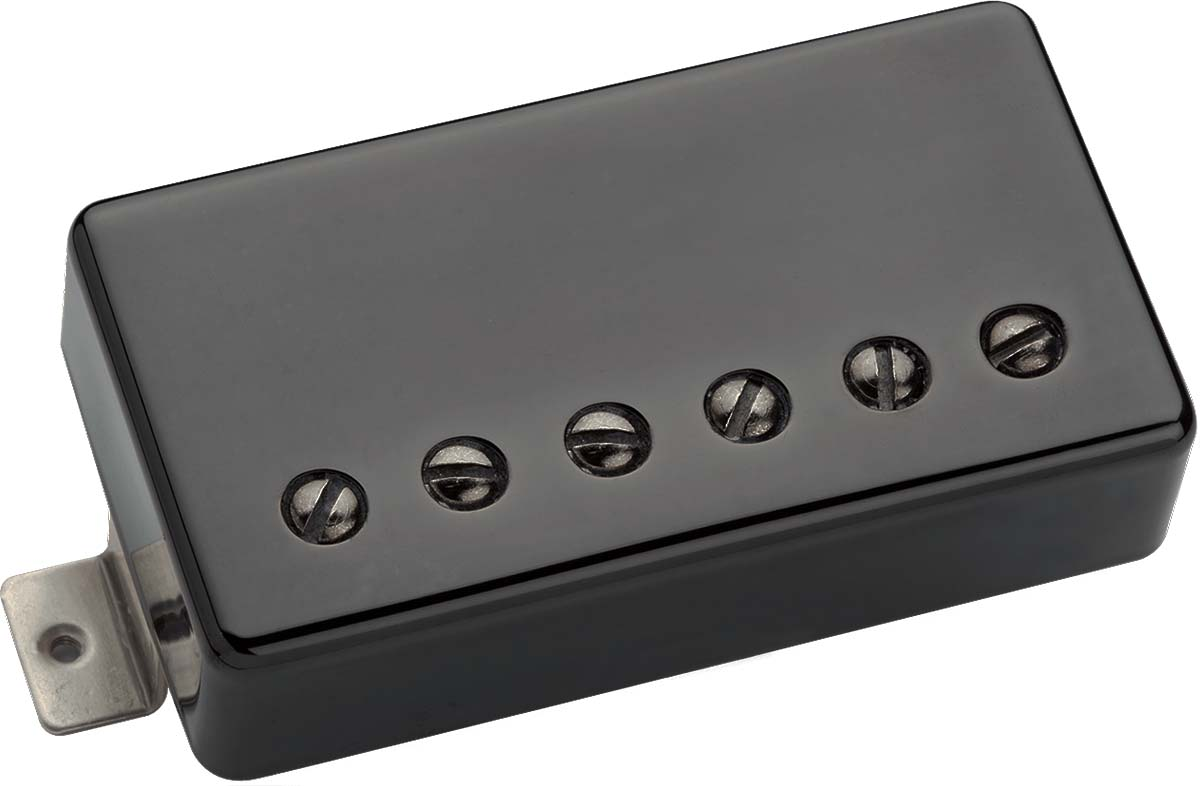 benedetto paf vintage alnico 5 humbucker guitar pickup black nickel cover. Black Bedroom Furniture Sets. Home Design Ideas