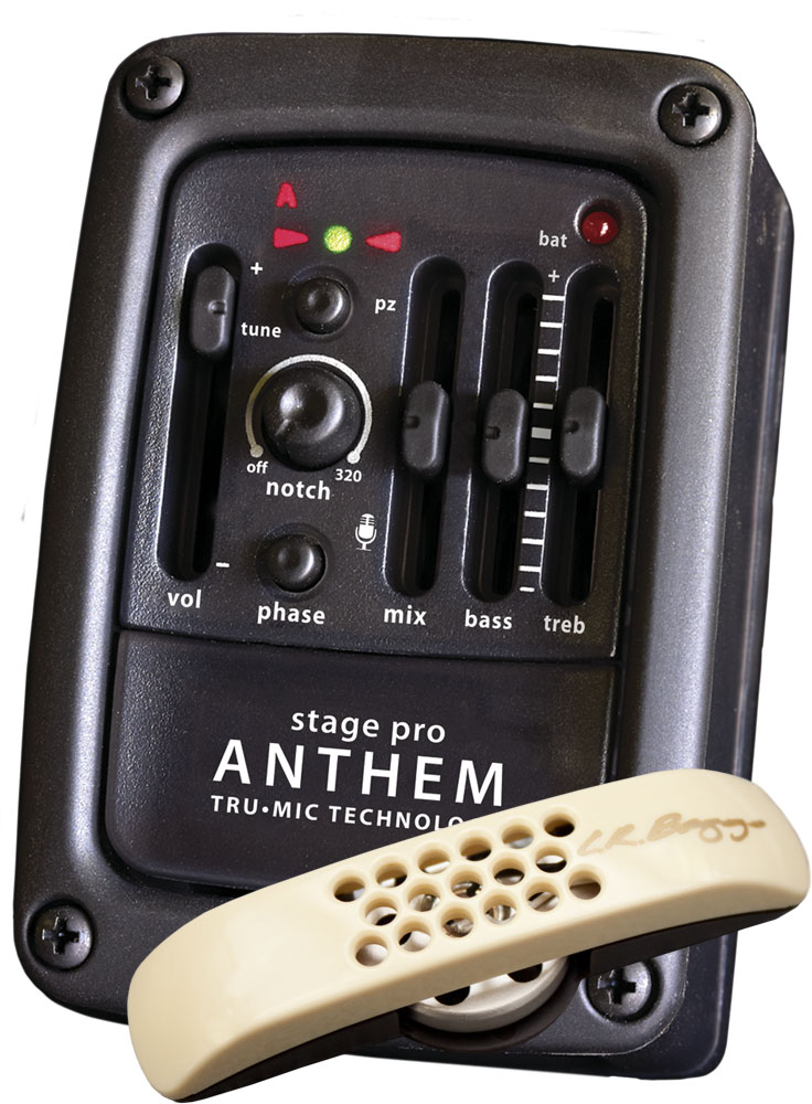 Lr Baggs Stagepro Anthem Onboard Guitar Microphone System  Element Pickup  Preamp
