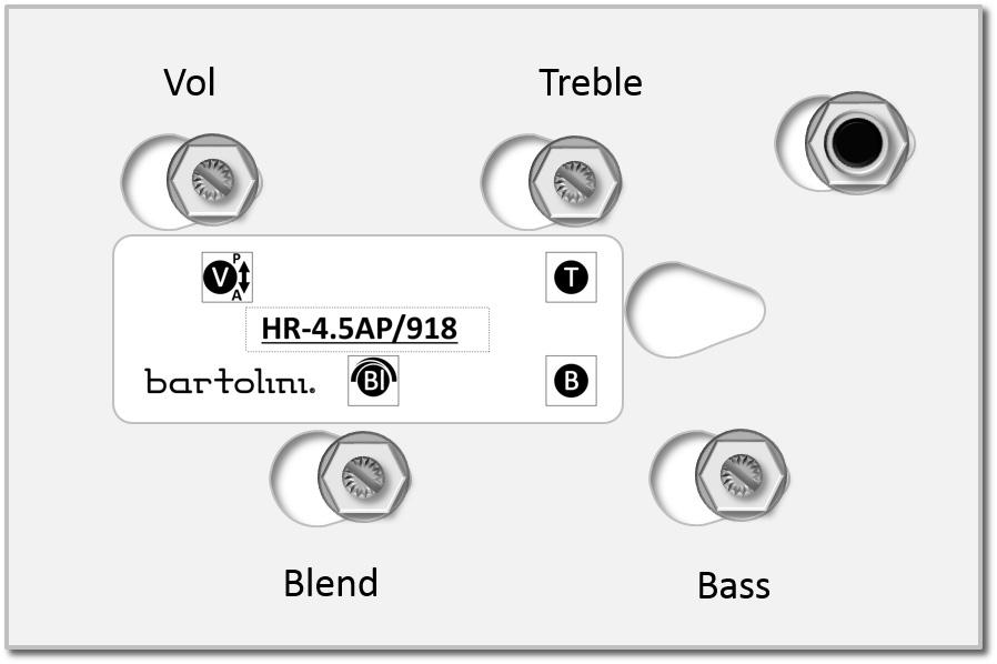 bartolini hr volume  blend
