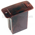 B-Band Vertical Mount 9-Volt Battery Box, Woodgrain