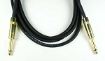 CBI Artist Gold 20ga Guitar/Instrument Cable, 20 Foot, Gold Plated Connectors