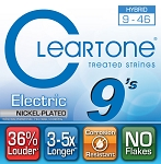 ClearTone 9419 EMP Micro-Coated Electric Guitar Strings Hybrid Light .009-.046