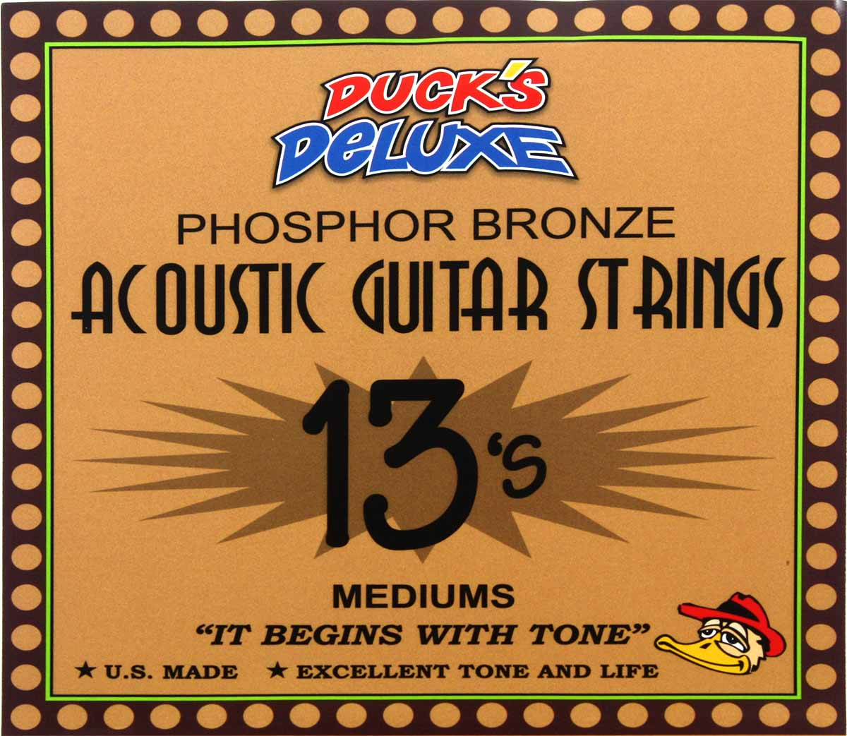 dr duck 39 s medium phosphor bronze guitar strings 013 056. Black Bedroom Furniture Sets. Home Design Ideas