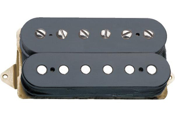 DP103F PAF Vintage 1950\'s F-Spaced Humbucker Alnico 5 Pickup, Black