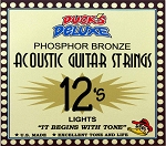 Dr. Duck's Phosphor Bronze Guitar Strings .012-.053 LT