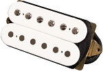 DiMarzio DP103F PAF Vintage 1950's F-Spaced Humbucker Alnico 5 Pickup, White