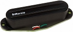 DiMarzio DP184 The Chopper Hum Cancelling Rails Strat Bridge Pickup, Black