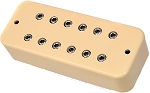 DiMarzio DP209 Super Distortion P90 Ceramic Humbucker Bridge Pickup, Cream
