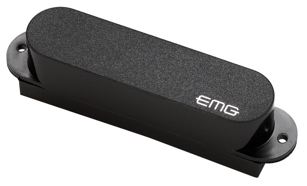 emg s single coil active ceramic strat pickup black. Black Bedroom Furniture Sets. Home Design Ideas