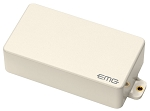 EMG 60 Active Dual Coil Humbucking Electric Guitar Pickup, Ivory Cover