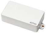 EMG 60 Active Dual Coil Humbucking Electric Guitar Pickup, White Cover