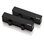 EMG J-Set Active Two Pickup Set for J-Bass, Black