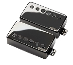EMG James Hetfield JH-Set, JH-B Bridge and JH-N Neck Pickups with Preamp, Black Chrome