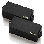 EMG PA P-Bass Active Two Pickup Alnico 5 Set w/Preamp, Black