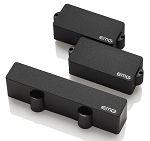 EMG PJHZ Set Passive Three Pickup Set for Bass, Black