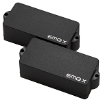 EMG PX P-Bass Active Two Pickup Set w/Preamp, Black