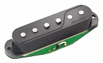 Fishman Fluence Single-Width Dual-Voice Strat Replacement Pickup, Black