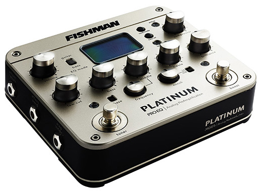 fishman platinum pro eq guitar bass preamp eq di w xlr out free 910 r ac adapter. Black Bedroom Furniture Sets. Home Design Ideas