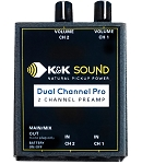 K&K Sound Dual Channel Pro Two Channel Guitar Preamp/EQ