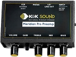 K&K Sound Meridian PRO Microphone Preamp/EQ Only, Mic Not Included