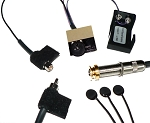 K&K Sound Pure Mini Guitar Pickup w/Pre-Phase Preamp & Gold Strap Button