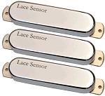Lace Sensor 08052 Chrome Dome Strat Neck/Middle/Bridge Guitar Pickup Set
