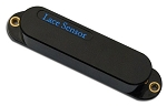 Lace 21121 Sensor Blue Single Coil Strat Guitar Pickup, Black Cover