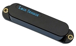 Lace Sensor Light Blue 21131 Single Coil Fender Strat Pickup, Black Cover