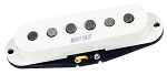 Mighty Mite VPSS-F Vintage Single Coil Strat Guitar Alnico 5 Bridge Pickup, White