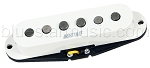 Mighty Mite VPSS-F Vintage Single Coil Strat Guitar Alnico 5 Middle Pickup, White