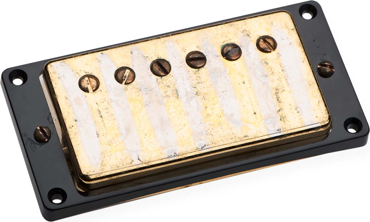 seymour duncan antiquity paf humbucker neck pickup aged gold cover. Black Bedroom Furniture Sets. Home Design Ideas