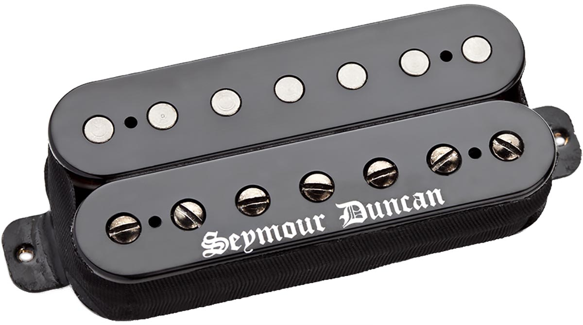 seymour duncan black winter 7 string humbucker bridge pickup black new ebay. Black Bedroom Furniture Sets. Home Design Ideas
