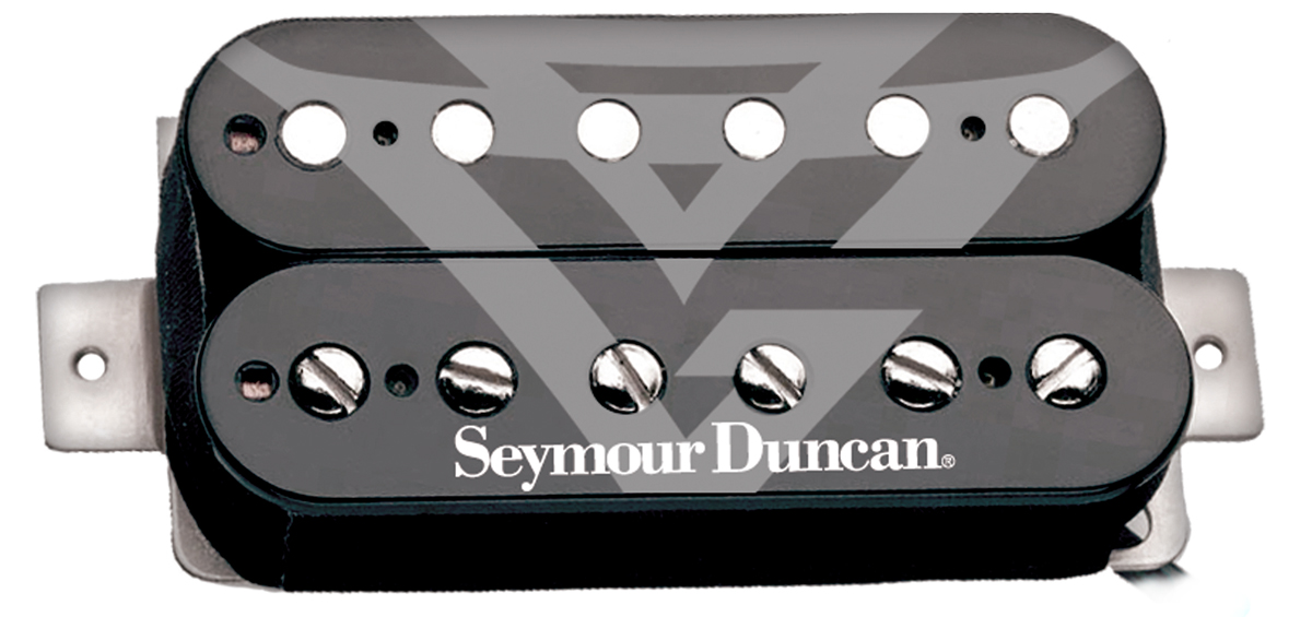 Seymour Duncan AHB-11s Gus G Fire Blackouts Active Humbuckers, Neck ...