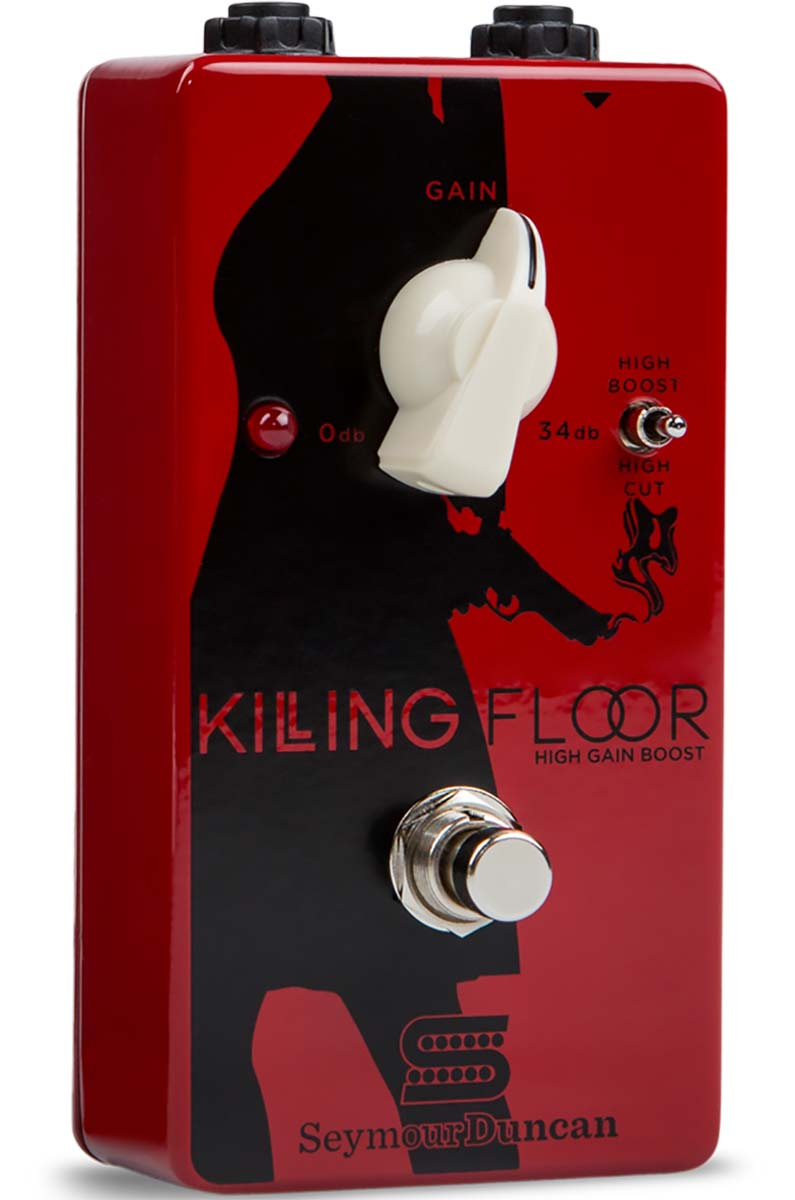 Seymour Duncan Killing Floor 34 dB Overdrive Boost Pedal with ...