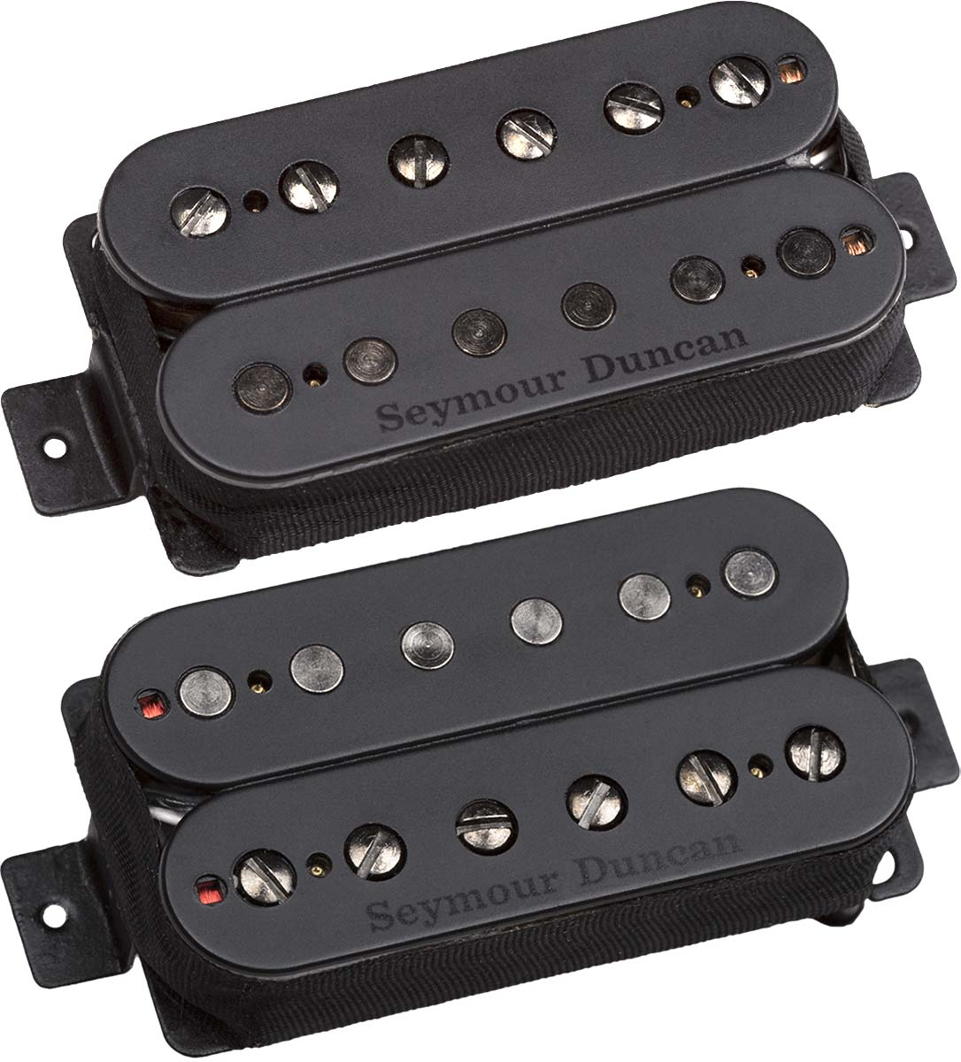 seymour duncan pegasus sentient alnico 5 humbucker neck bridge pickup set black. Black Bedroom Furniture Sets. Home Design Ideas