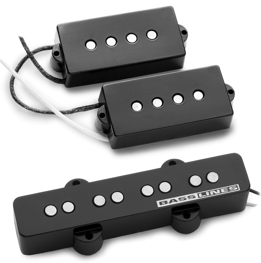 seymour duncan spjb 2 hot p bass j bass pj pickup set spb 2 sjb 2b new ebay. Black Bedroom Furniture Sets. Home Design Ideas