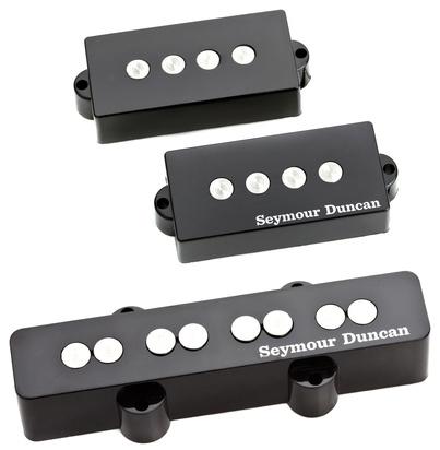 seymour duncan spjb 3s quarter pound pj bass matched neck bridge pickup set. Black Bedroom Furniture Sets. Home Design Ideas