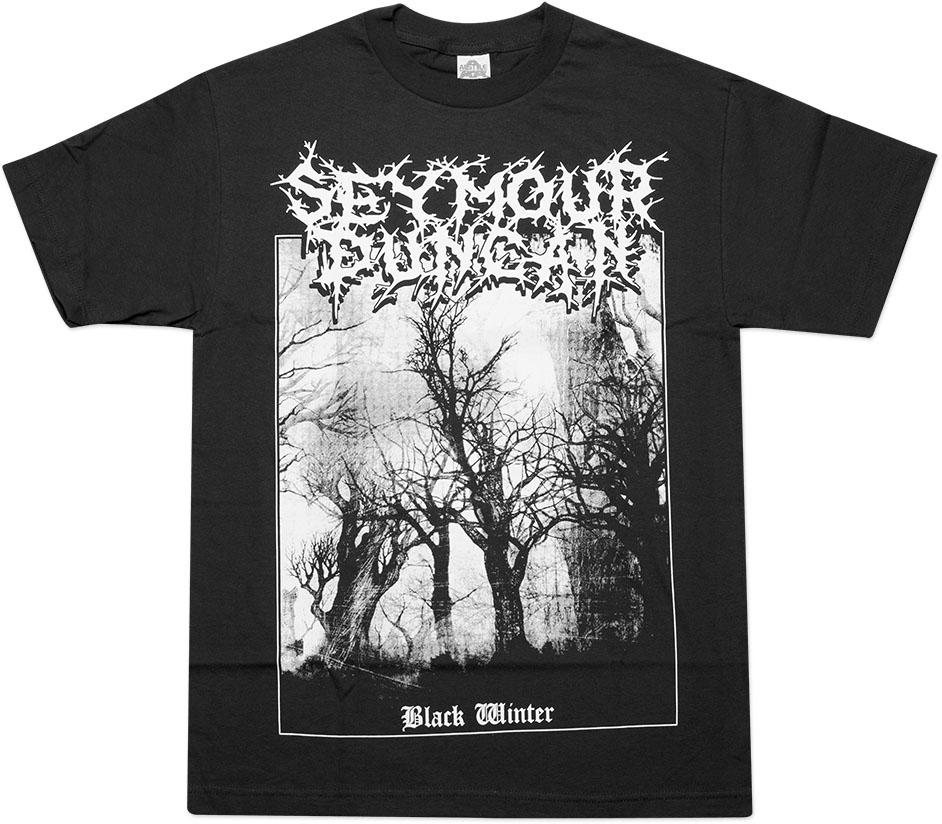 seymour duncan black winter t shirt short sleeve large black. Black Bedroom Furniture Sets. Home Design Ideas