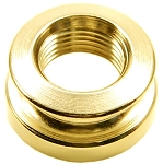 Gold End-pin Strap Button for Schatten Guitar Pickups