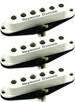 Seymour Duncan APS-1s Alnico II Pro Staggered 3 Pickup Calibrated Set for Strat, White