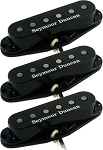Seymour Duncan APS-2s Alnico II Pro Flat Calibrated Pickup Set, Black Covers