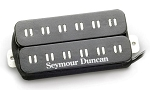 Seymour Duncan PATB-3b Parallel Axis Blues Sarceno Distortion Trembucker Bridge Pickup, Black
