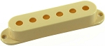 Seymour Duncan Pickup Cover for Strat Single Coil Pickups, Cream, No Logo