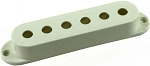 Seymour Duncan Pickup Cover for Strat Single Coil Pickups, Parchment, No Logo