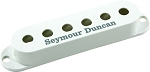 Seymour Duncan Pickup Cover for Strat Single Coil Pickups, White with Logo