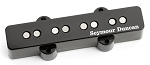 Seymour Duncan SJB-2b Hot Single Coil J-Bass Bridge Pickup, Black