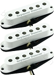 Seymour Duncan SSL-2 CSET Vintage Flat Strat Calibrated 3 Pickup Set, White Covers