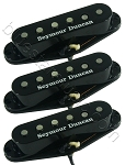 Seymour Duncan SSL-52 Five-Two Alnico 5/2 Strat Neck/Middle/Bridge Pickup Set, Black