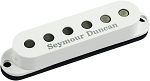 Seymour Duncan SSL-3 Hot Single Coil Strat Pickup, Alnico 5, White Cover